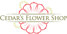 Branding and identity programs by Nichols Interactive marketing agency and web site design - Cedar's Flower Shop